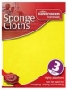 Sponge Cleaning Cloths 3pc
