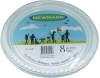 8pc Disposable Plates
